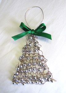 Wire Christmas Tree Ornament