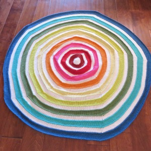 Rainbow Halos Baby Blanket or Playmat